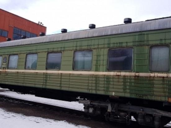 Тело мужчины нашли в вагоне поезда на Кубани