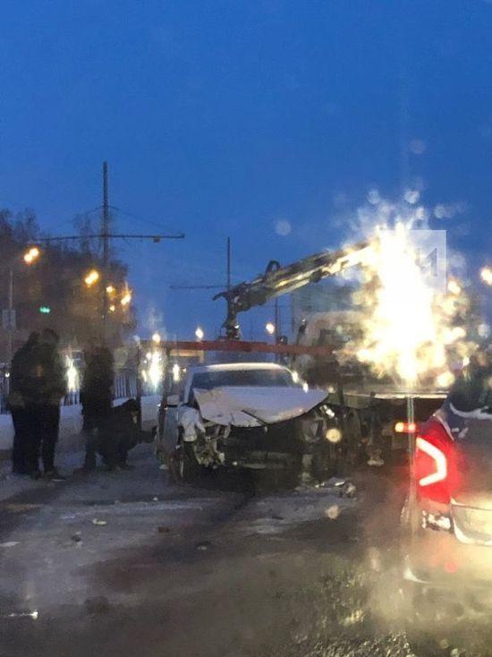 В Казани в результате ДТП пострадал двухлетний малыш