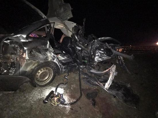 На дорогах Калмыкии погибло трое взрослых и один ребенок