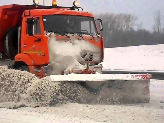 Курортный Железноводск чистили от снега всю ночь
