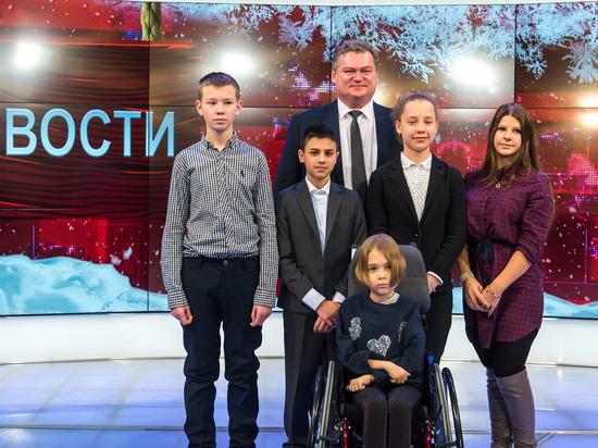 В Калуге дети с проблемами здоровья окунулись в мир тележурналистики