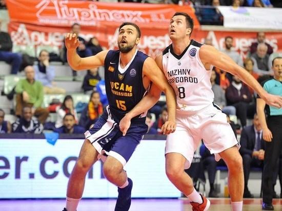 БК «Нижний Новгород» проиграл «Мурсии» в овертайме