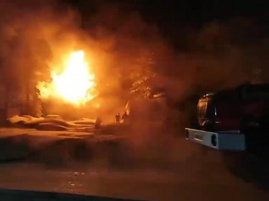 Ямалец получил серьезные ожоги, пытаясь потушить собственный дом