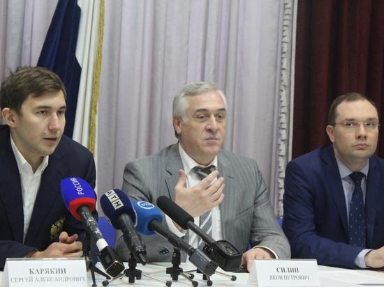 В Свердловской области создается система по подготовке школьников и студентов на основе шахмат