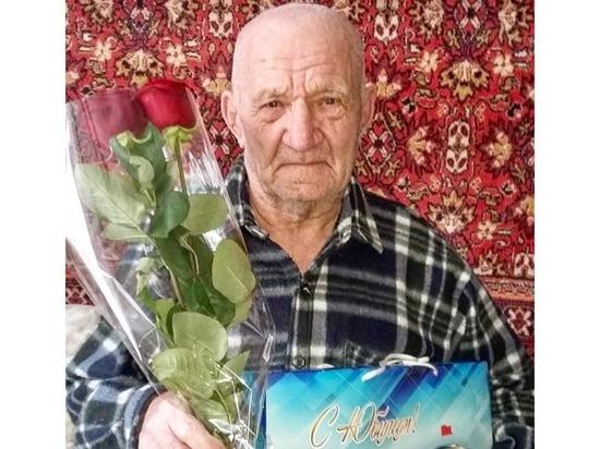 Житель Серпухова отмечает свой 90-летний юбилей