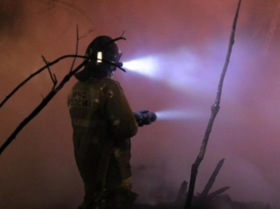 В Смоленском районе из-за неисправности печи горел сарай
