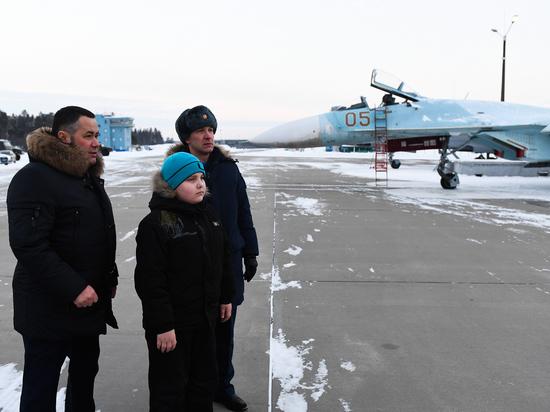 Мечта маленького тверитянина исполнилась на авиабазе «Хотилово-2»
