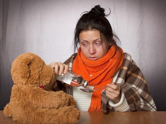 В Бурятии за новогодние праздники 899 человек заболели ОРВИ
