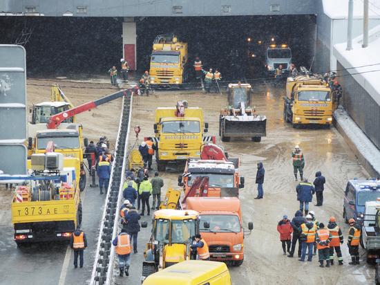 Версии затопления Тушинского тоннеля: