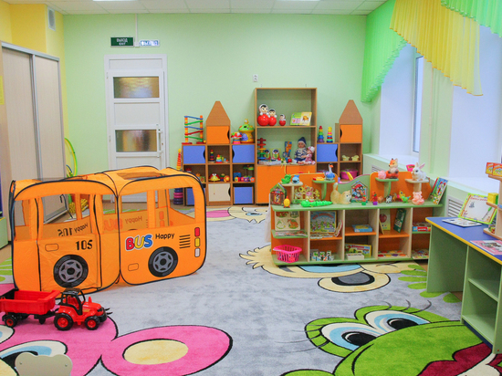 Завершен ремонт нового корпуса детсада № 453 в Нижнем Новгороде