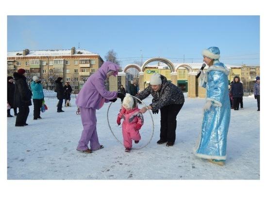 В Серпухове для детей провели развлекательную программу «Накануне Рождества»