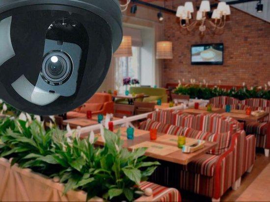 В тверском кафе камеры записали преступление молодой девушки