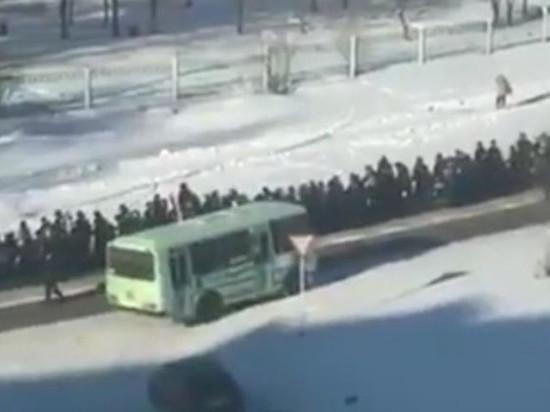 Полиция Амурска принимала участие в похоронах криминального авторитета Юрия Зарубина