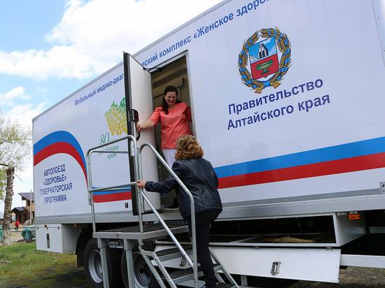 Врачи краевого Диагностического центра используют в работе автопоезда «Здоровье» телемедицинские технологии