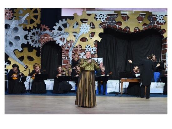 В Большевике выступил ансамбль русской музыки и танца «Садко»
