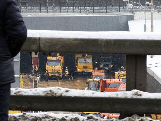 Эксперты оценили масштаб наводнения в Тушинском тоннеле: началась цепная реакция