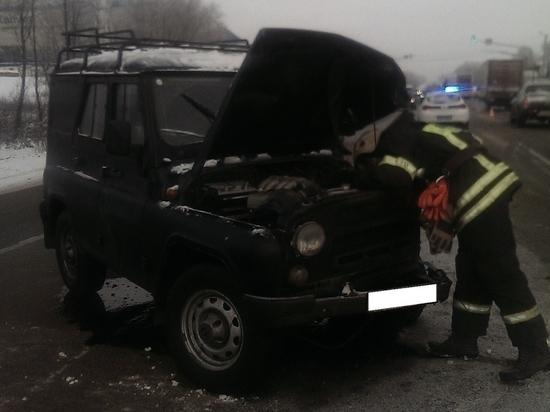 ДТП с автобусом произошло на калужской трассе