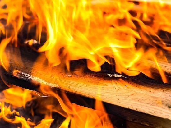 Жильцов многоэтажки эвакуировали из-за пожара в Краснодаре