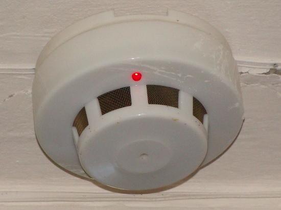 В Междуреченске пожара в доме удалось избежать благодаря сигнализации
