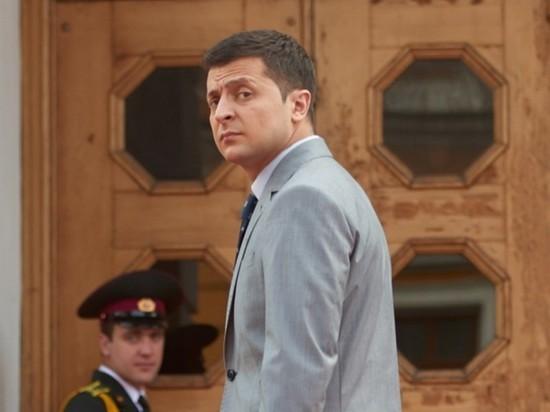 Кандидат в президенты Украины Зеленский захватил офис в центре Киева