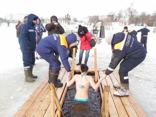 Мэрия Ярославля назвала места где будут расположены купели для омовения в Крещение