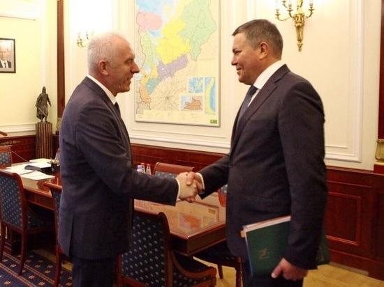 Губернатор Вологодчины обсудил важные вопросы с представителем президента РФ