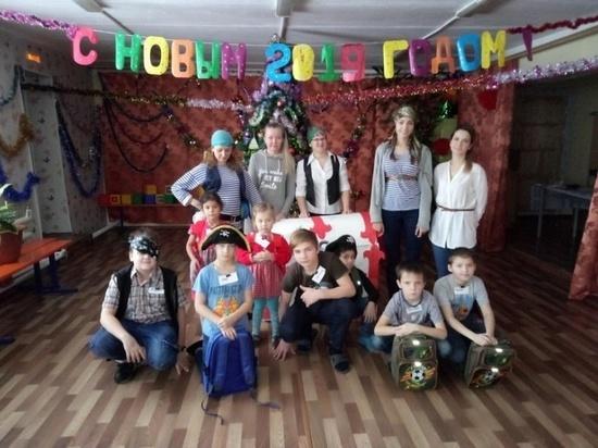 В Кесовой Горе устроили праздник для маленьких пиратов
