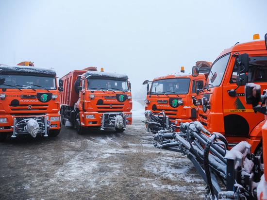 Дорожники Волгоградской области готовы к сильному снегопаду