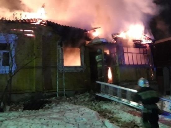 Бабушка 82 лет сгорела в собственном доме под Калугой