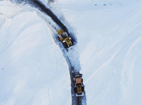 Десятки лавин сошли на Транскам за последние два дня