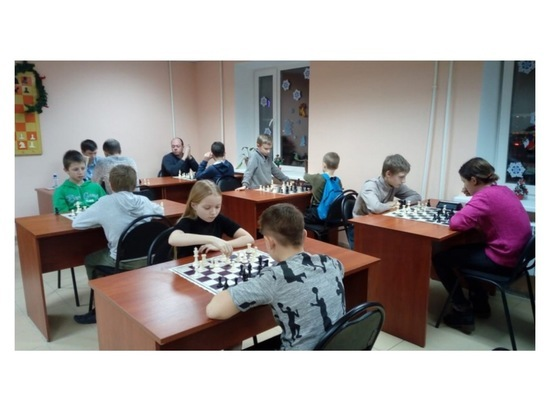 В Серпухове шахматисты поучаствовали в новогоднем блиц-турнире