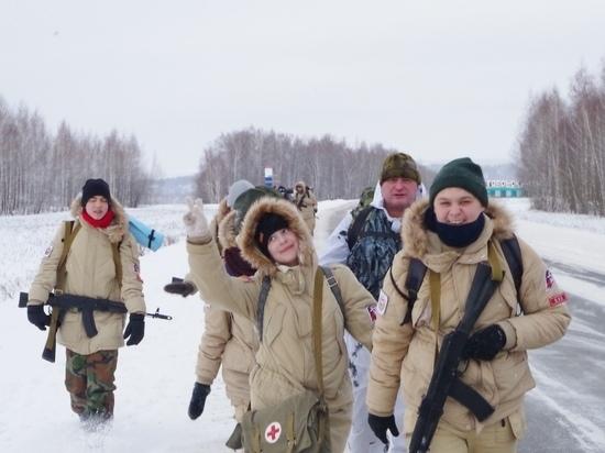 Юные патриоты Мордовии посвятили воинам - афганцам маршбросок