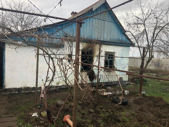 Трехлетний мальчик погиб в огне в Крымском районе