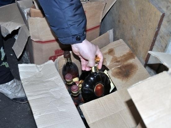 В Черняховске полицейские изъяли более тысячи бутылок незаконного алкоголя
