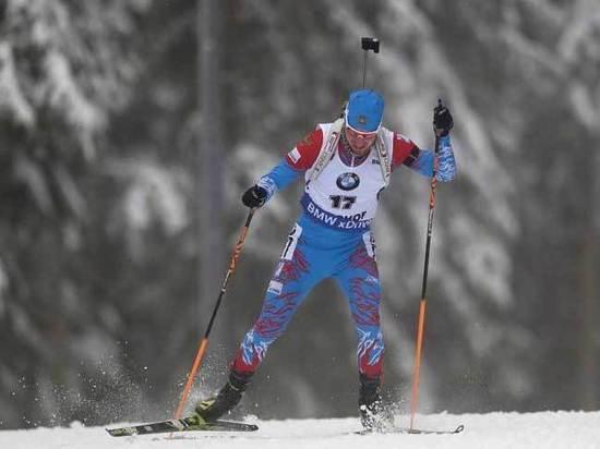 Биатлонист Логинов выиграл спринт на этапе Кубка мира в Оберхофе