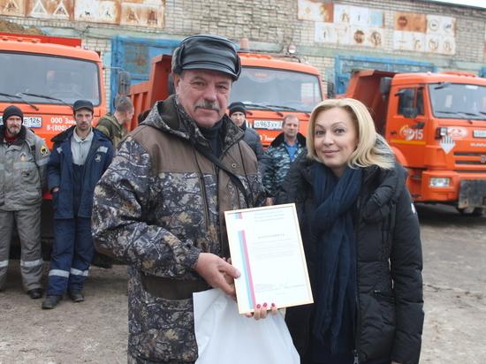 Ставропольские дорожники получили благодарность от зампреда Госдумы РФ