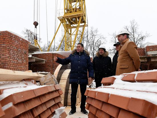 В Твери защитят улицу Советскую от обрушения в котлован колокольни