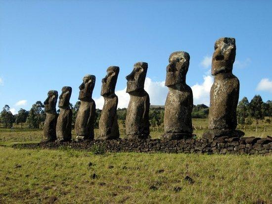 Назначение статуй острова Пасхи раскрыли при помощи русского теста