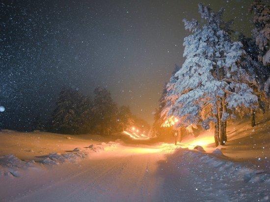 В Архангельской области сегодня снова обещают и снег, и ветер, и звёзд ночной полёт