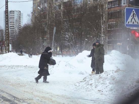 Ни пройти ни проехать: Петрозаводск утонул в снегах и метели