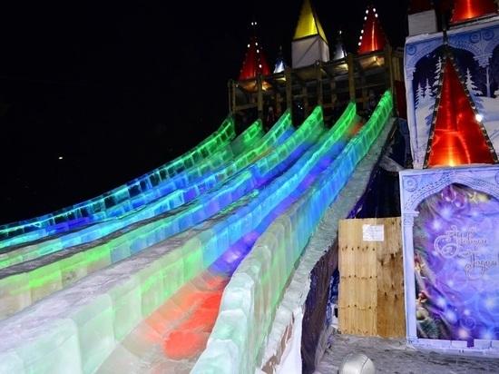 В Улан-Удэ с «Хрустальной сказки» хотели скатиться в железном тазике