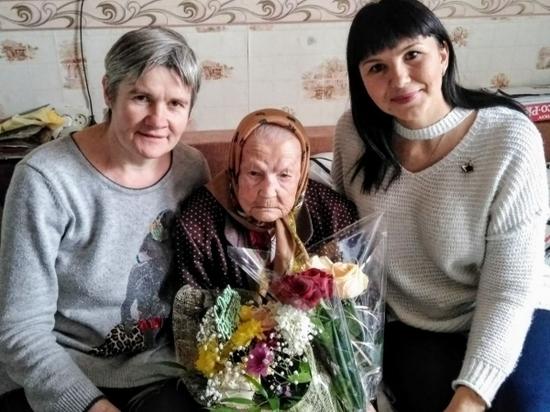 Волгоградка Агафья Маркеловна Маменкова отметила столетие