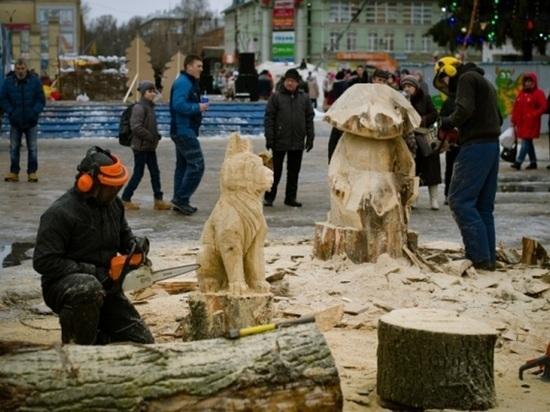 На шуйском фестивале соберутся скульпторы и резчики по дереву