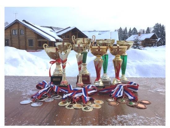 Серпуховичи преодолели рождественскую лыжню