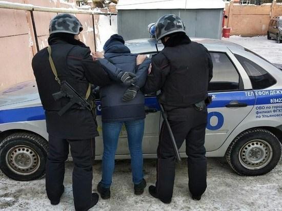 Ульяновца, находившегося в федеральном розыске, задержали за кражу