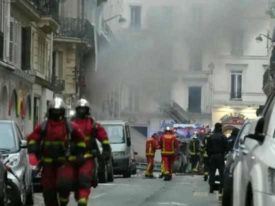 Очевидцы сняли страшные кадры последствий взрыва в Париже