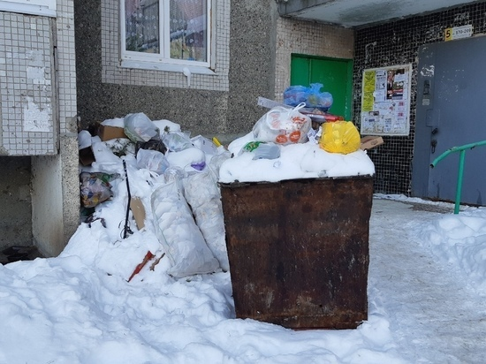 Вывоз мусора в Ульяновской области идет