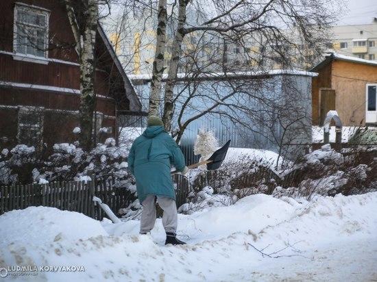 Петрозаводчан просят сообщать о заснеженных дворах в Госкомитет по жилнадзору