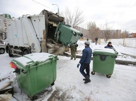В Волгограде установили более 800 евроконтейнеров за праздники