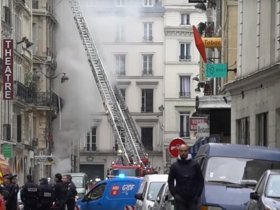 Четыре человека погибли при взрыве в Париже